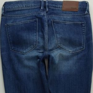 Madewell Skinny Ankle Jeans Women's 24 Soft  A317J
